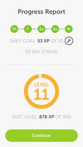 93 Day Streak